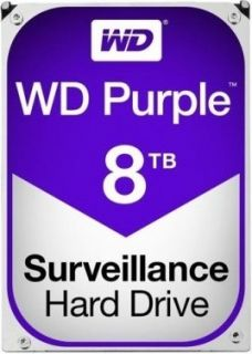 Жесткий диск WD Purple 8 Тб